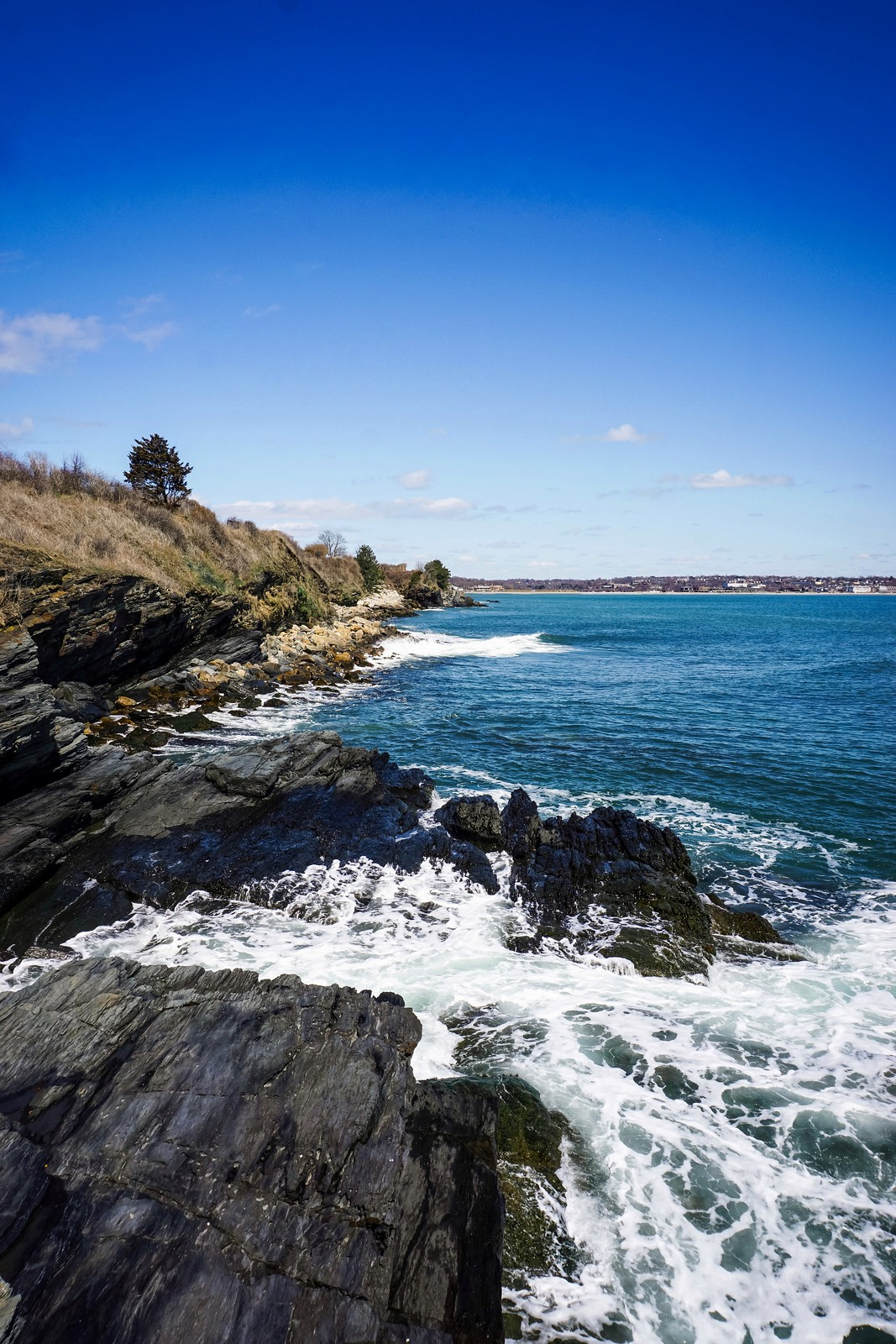 Forty Steps | Cliff Walk | 48 Hours in Newport Itinerary | A First Timer's Guide to 2 Days in Newport Rhode Island | What to do in Newport | Newport Travel Guide | Best Things to do in Newport | Best Places to Visit in Newport