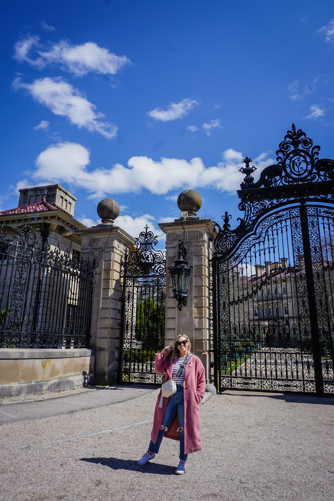 The Breakers Newport Mansion Vanderbilt Summer Cottage | 48 Hours in Newport Itinerary | A First Timer's Guide to 2 Days in Newport Rhode Island | What to do in Newport | Newport Travel Guide | Best Things to do in Newport | Best Places to Visit in Newport