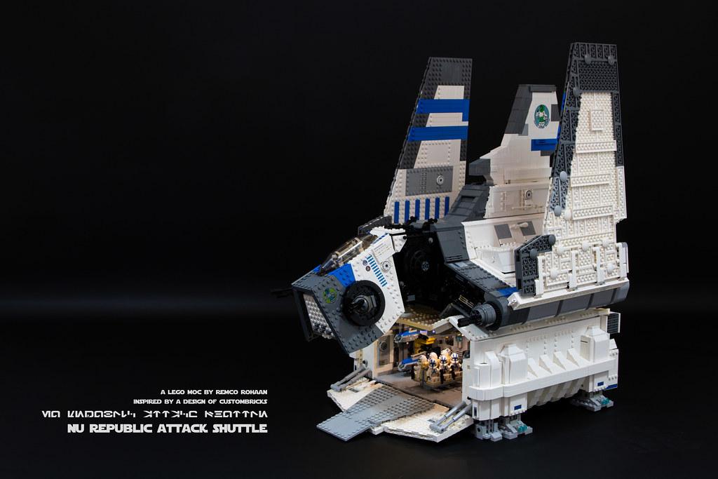 NU Republic Attack Shuttle MOC