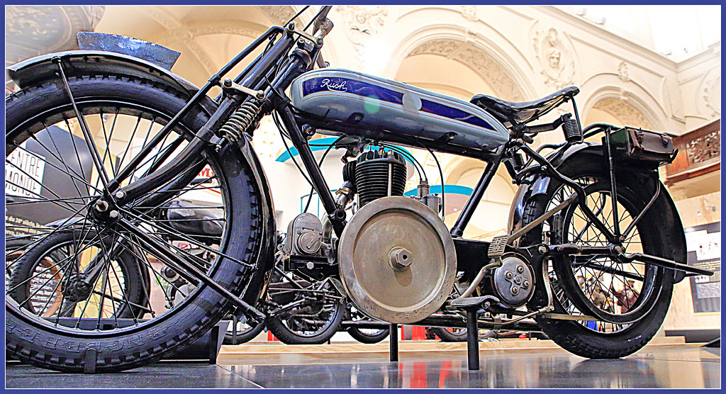 Exposition motos liégeoises