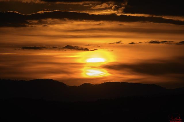 Sunset feeling in Kaltbrunn - St.Gallen - Switzerland