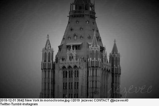 2018-12-31 3642 New York in monochrome