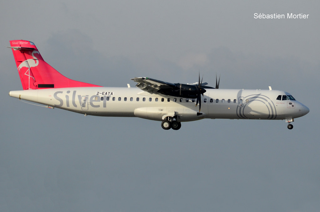 ATR.72-600 SILVER AIRWAYS 2-EATA 1038 TO N705SV EX ES-ATA NORDICA DELIVERY CANCELLED RETURNED TO FRANCAZAL 03 04 21 TLS