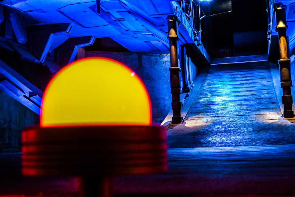 First Order ship ramp light night SWGE
