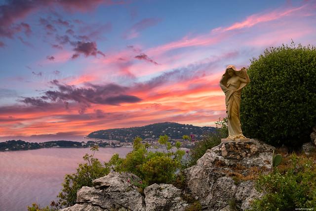 L'hôtel de la Chèvre d'Or à Eze sur la Côte d'Azur France -1L8A2230