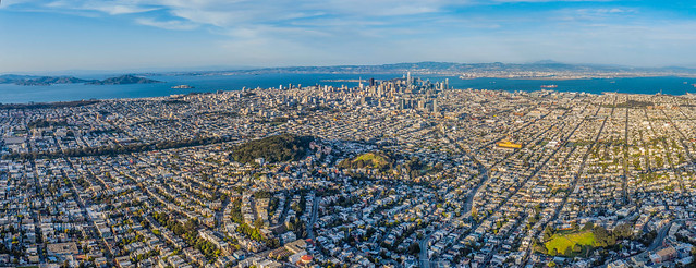 from the top of sutro tower