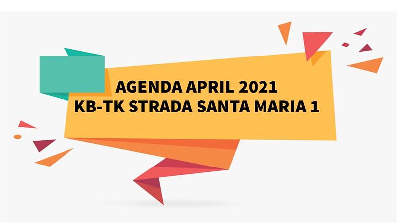 AGENDA APRIL 2021