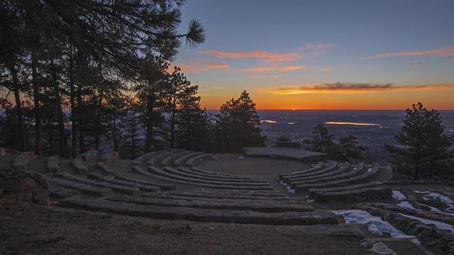 Boulder Sunrise Amphitheater (Explored)