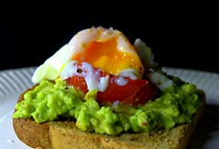 Poached Egg on Avocado on Toast