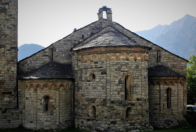 Sant Climent de Taüll.  Vall de Buí (Alta Ribagorça)