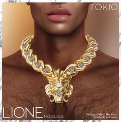 TOKIO Acessory - LIONE Necklace @Manly Arena Event!
