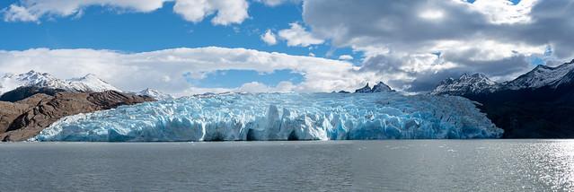 Panoramica Glaciar Grey
