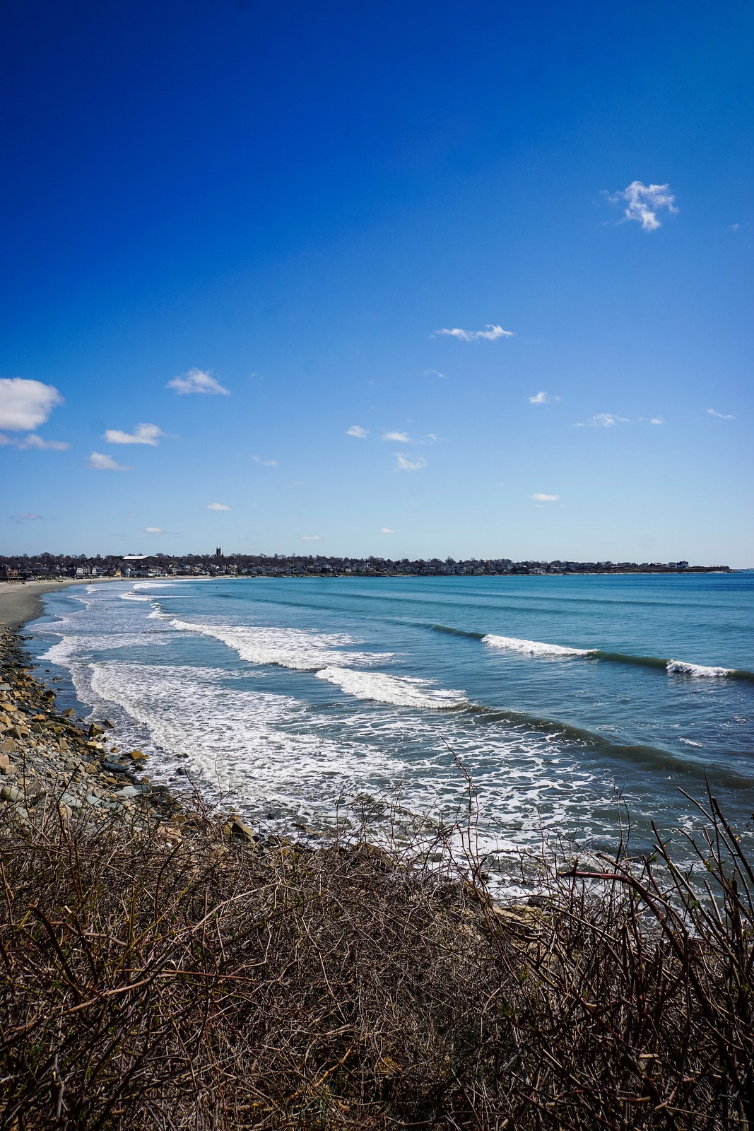 Easton Beach | Start of the Cliff Walk | 48 Hours in Newport Itinerary | A First Timer's Guide to 2 Days in Newport Rhode Island | What to do in Newport | Newport Travel Guide | Best Things to do in Newport | Best Places to Visit in Newport