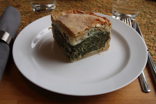 Torta pasqualina (= Ligurische Ostertorte)