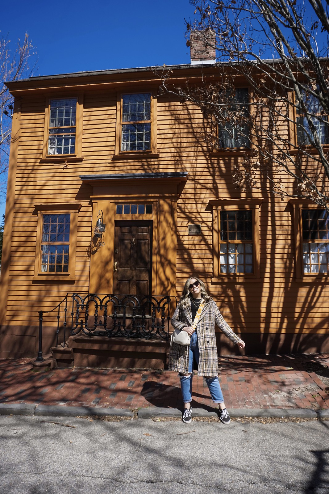 Orange Historical Home |  48 Hours in Newport Itinerary | A First Timer's Guide to 2 Days in Newport Rhode Island | What to do in Newport | Newport Travel Guide | Best Things to do in Newport | Best Places to Visit in Newport