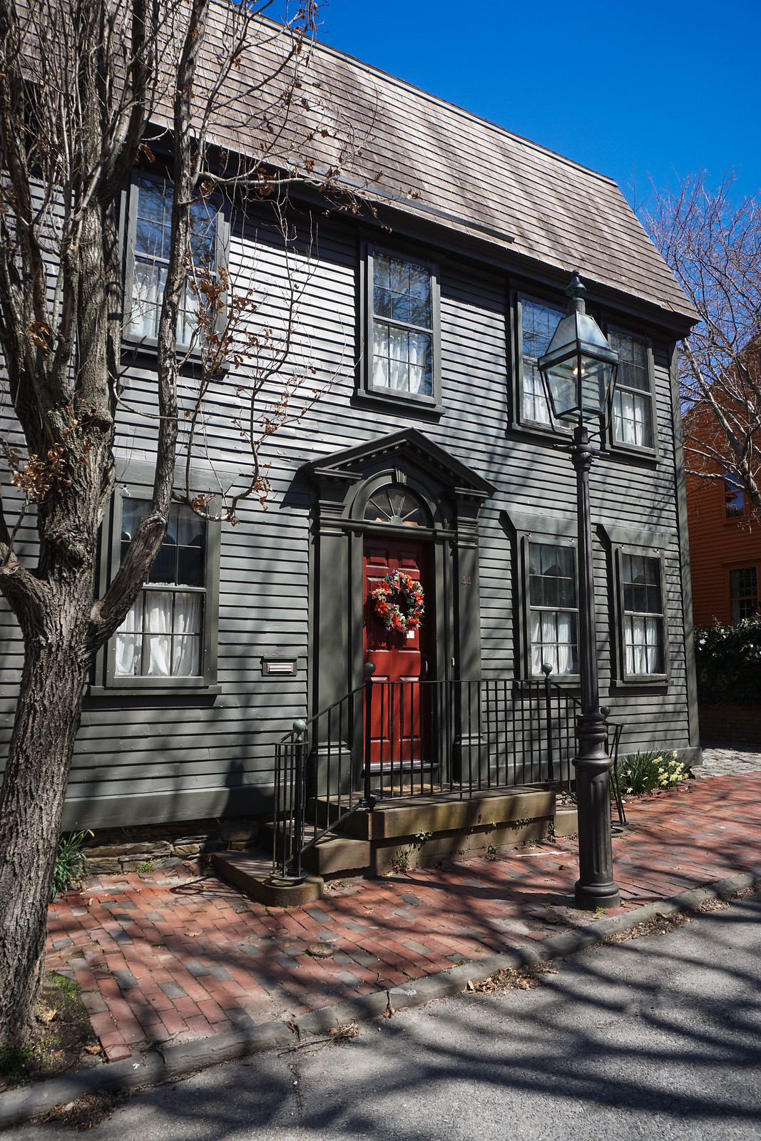 Historical Home |  48 Hours in Newport Itinerary | A First Timer's Guide to 2 Days in Newport Rhode Island | What to do in Newport | Newport Travel Guide | Best Things to do in Newport | Best Places to Visit in Newport