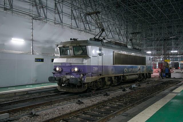 SNCF BB 7391 Gare d'Austerlitz