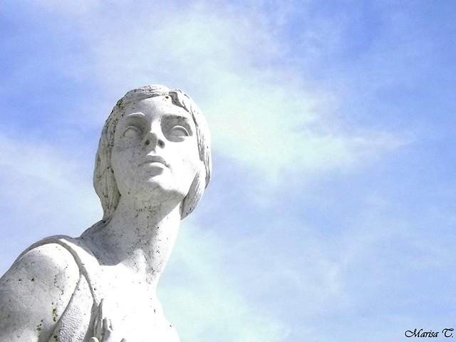 Estatua de la Paz (Alcázar de Toledo)