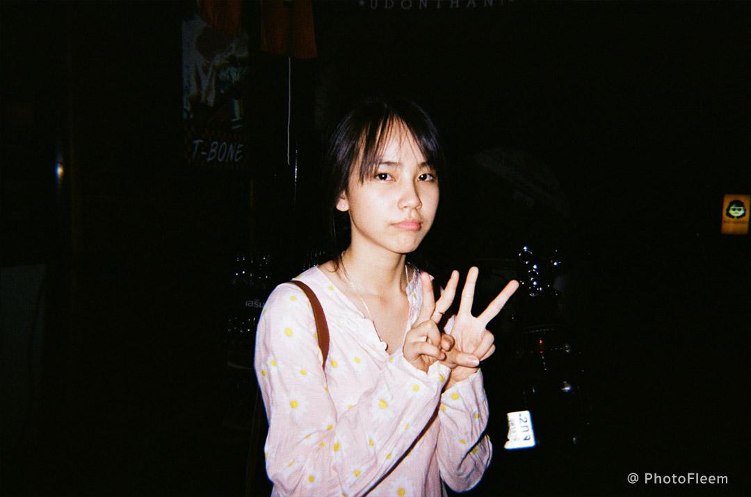 Kodak m38 กล้องฟิล์ม ถ่ายรูปกลางคืน