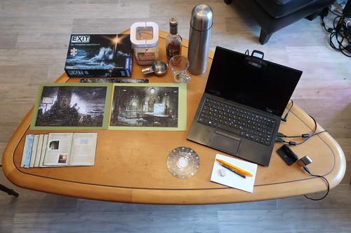 """alles für Fortsetzung des Escape Game """"Exit – Das Spiel: Der einsame Leuchtturm"""" per Videokonferenz vorbereitet"""