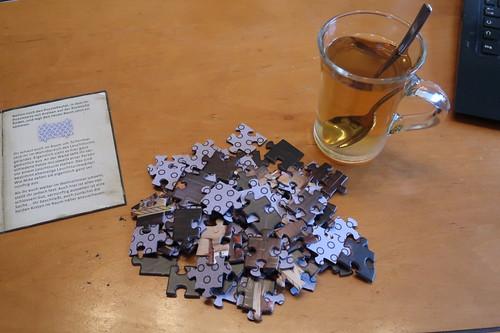 Grog zum Beginn des dritten Puzzles