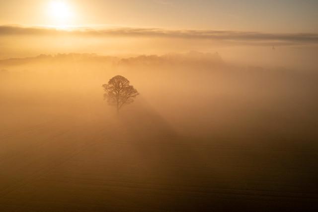 Foggy morning over Billinge