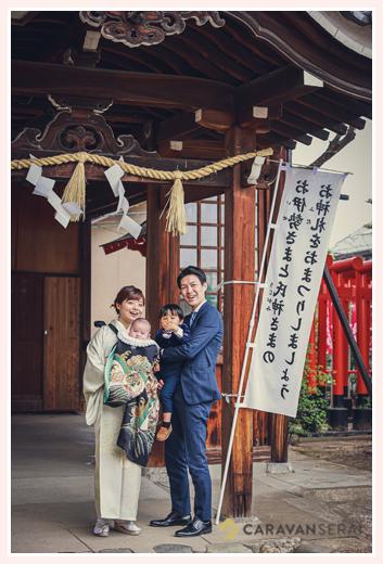 名古屋で人気のお宮参り先 川原神社