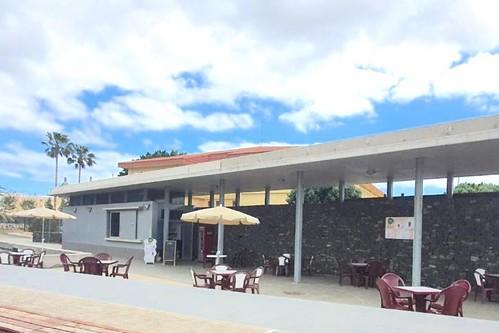 Vista de la Terraza Auditorio Agüimes, ya en funcionamiento