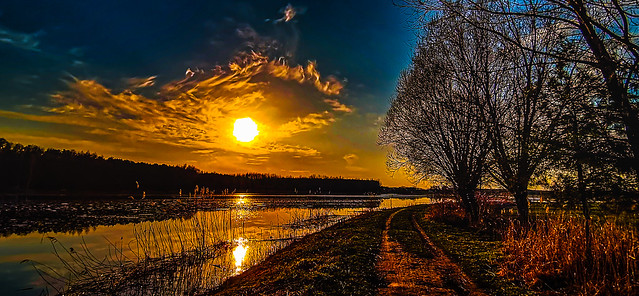 The way of the river of light