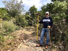 Travaux d'entretien sur la montée à Piscia Cava (PR4/PR5)