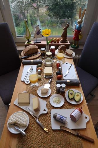 Frühstück am Ostermontag