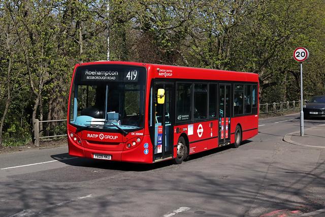 Route 419, London United, DE20048, YX09HKU