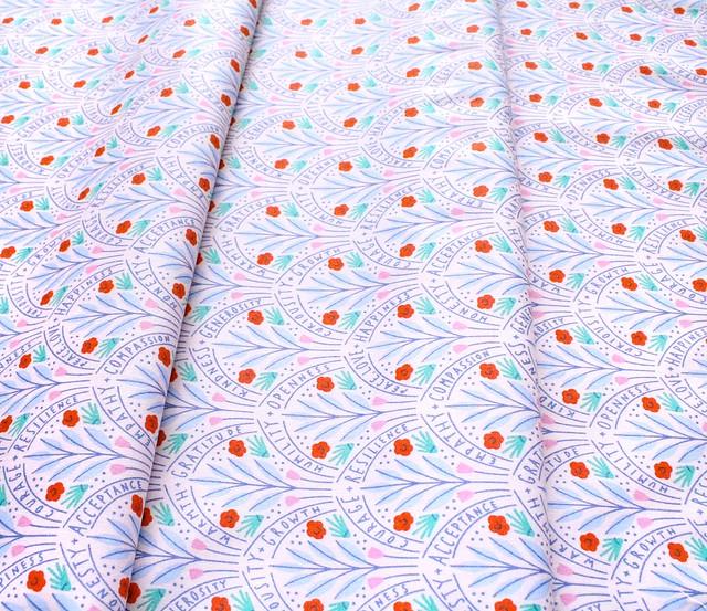 Cloud9 Fabrics Universal Love 227020 Flower Guides