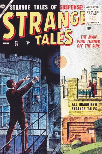 Strange Tales #36