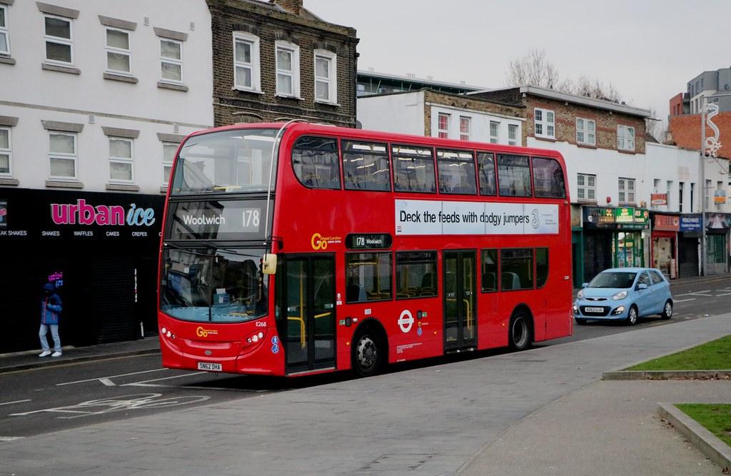 Go Ahead London Central - E268 - SN62DHA