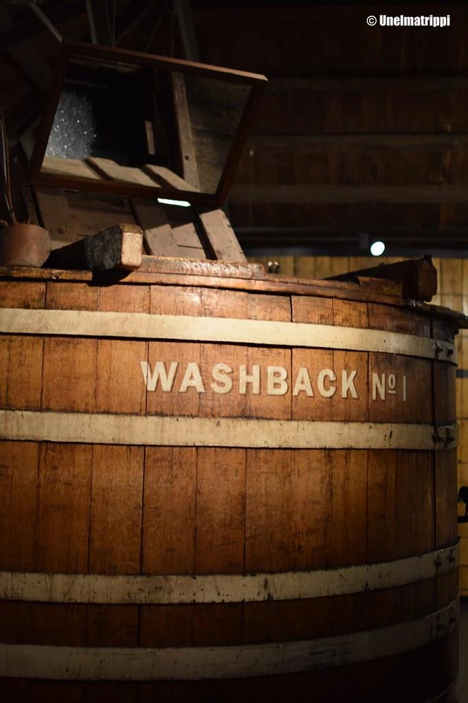 Sammio Jameson Distilleryn tiloissa
