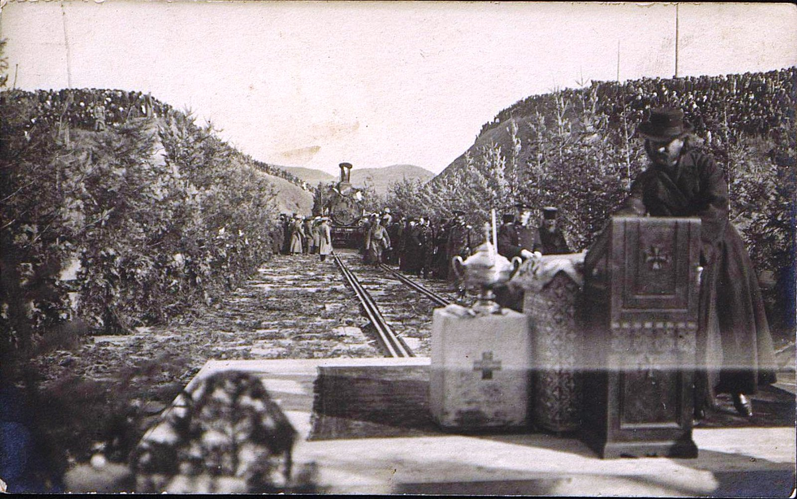 06. 1916. Открытие железнодорожного моста через реку Амур.Октябрь (7)