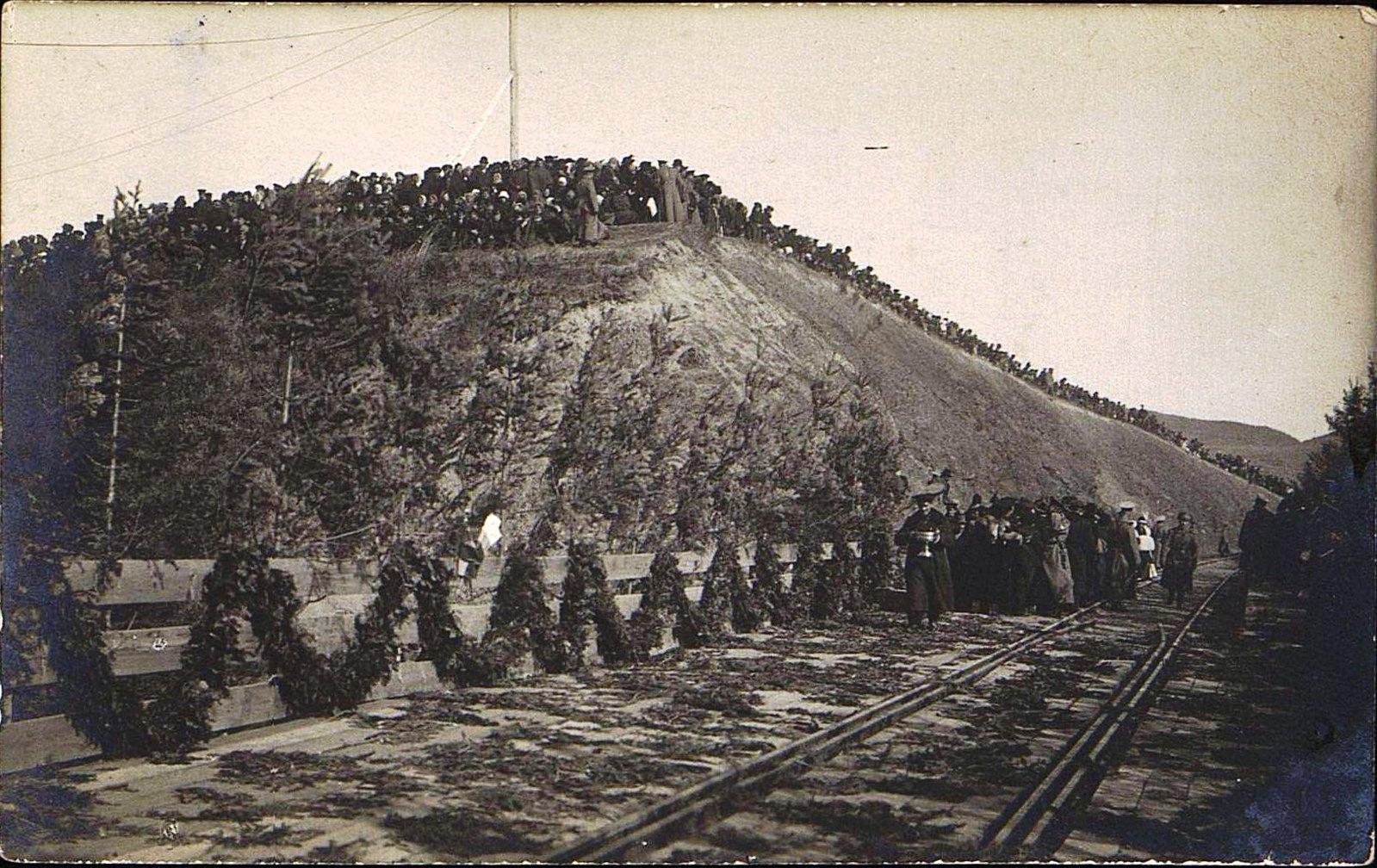 05. 1916. Открытие железнодорожного моста через реку Амур.Октябрь