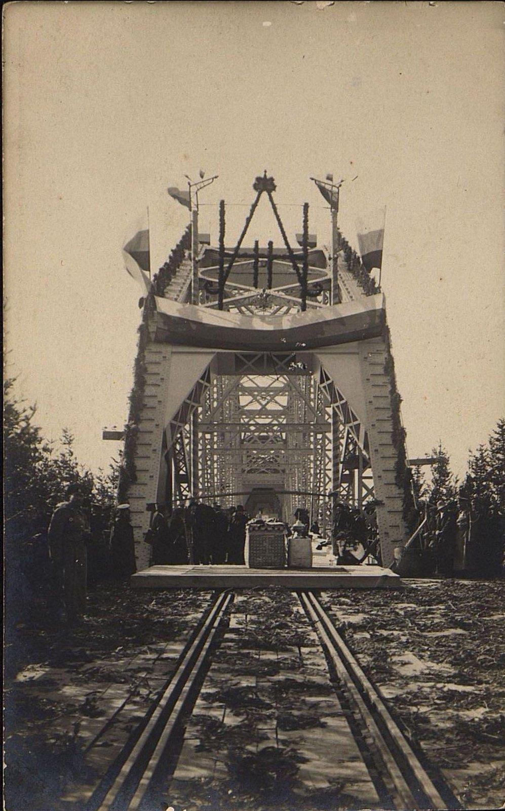 04. Открытие железнодорожного моста через реку Амур.Октябрь