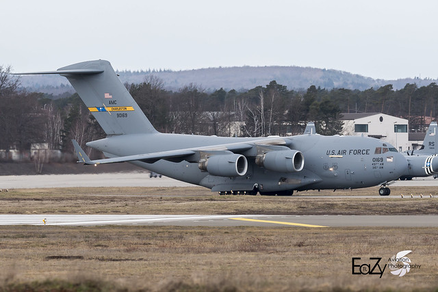 99-0169 United States Air Force Boeing C-17A Globemaster III