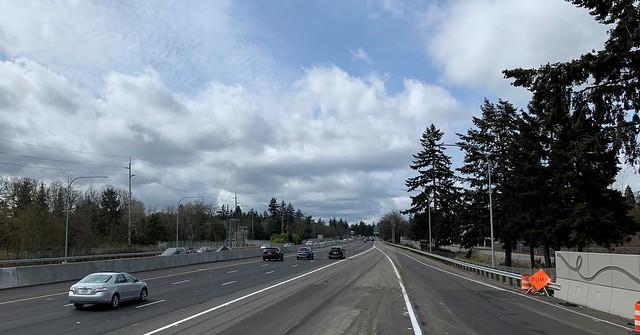 Auxiliary lane opens near JBLM