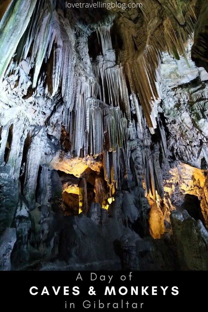 Gibraltar - Caves & Monkeys