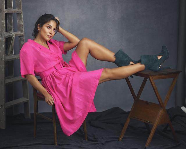 Silvia - Fotógrafo Laurent Leger Adame - Maquillaje y peluquería Oriana Herrera - Estilismo Pepa Fucsia