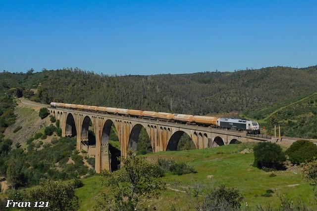Amoniaco Badajoz-Huelva por La Alcolea