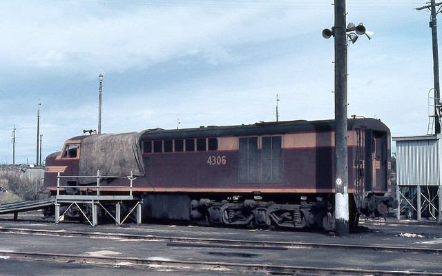 4306, Broadmeadow Loco Depot, Broadmeadow, Newcastle, NSW.