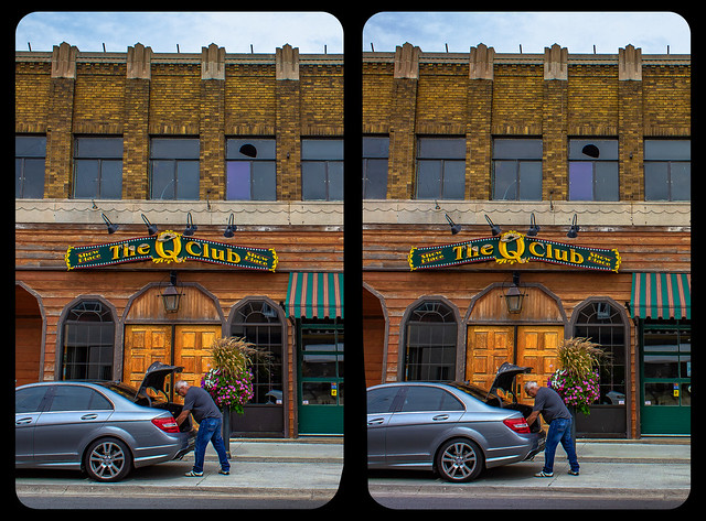 Niagara club 3-D / CrossView / Stereoscopy