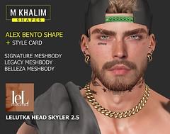 Alex Shape for Lelutka Head Skyler