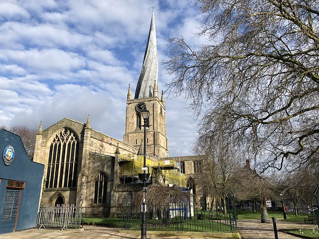 Church of St Mary and All Saints, Chesterfield 2021