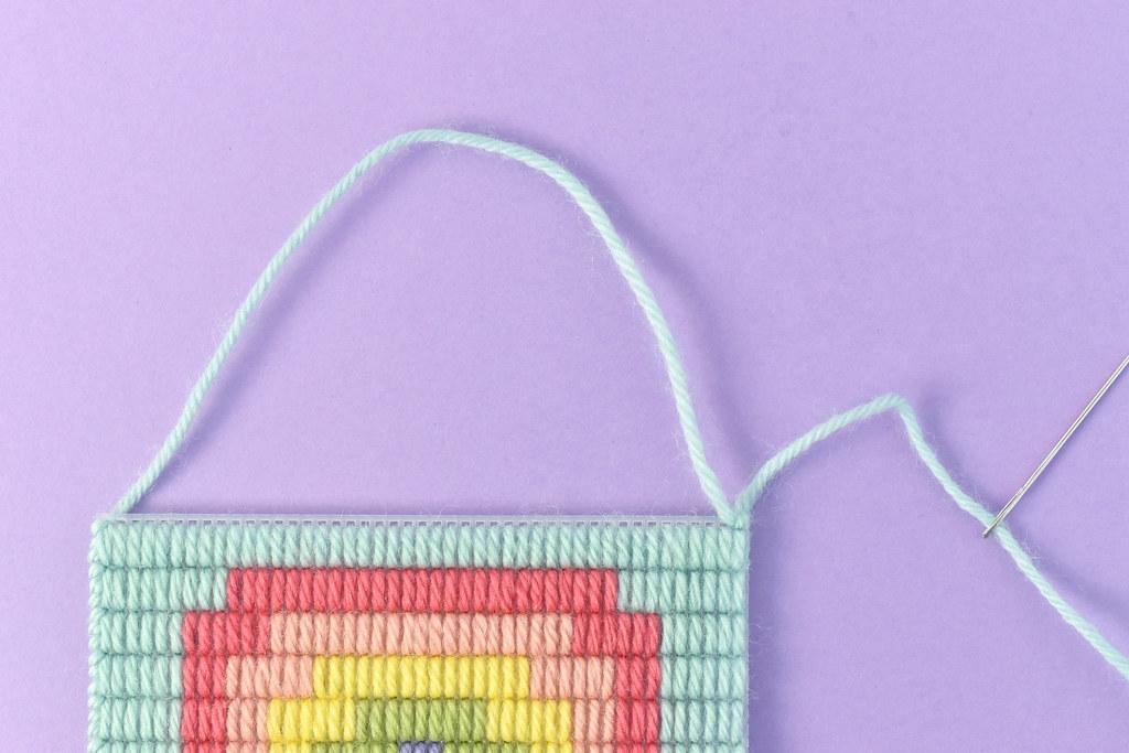 PlasticCanvas Bargello Pixel Art