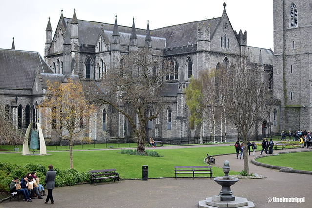 Kauniita kivirakennuksia Dublinissa